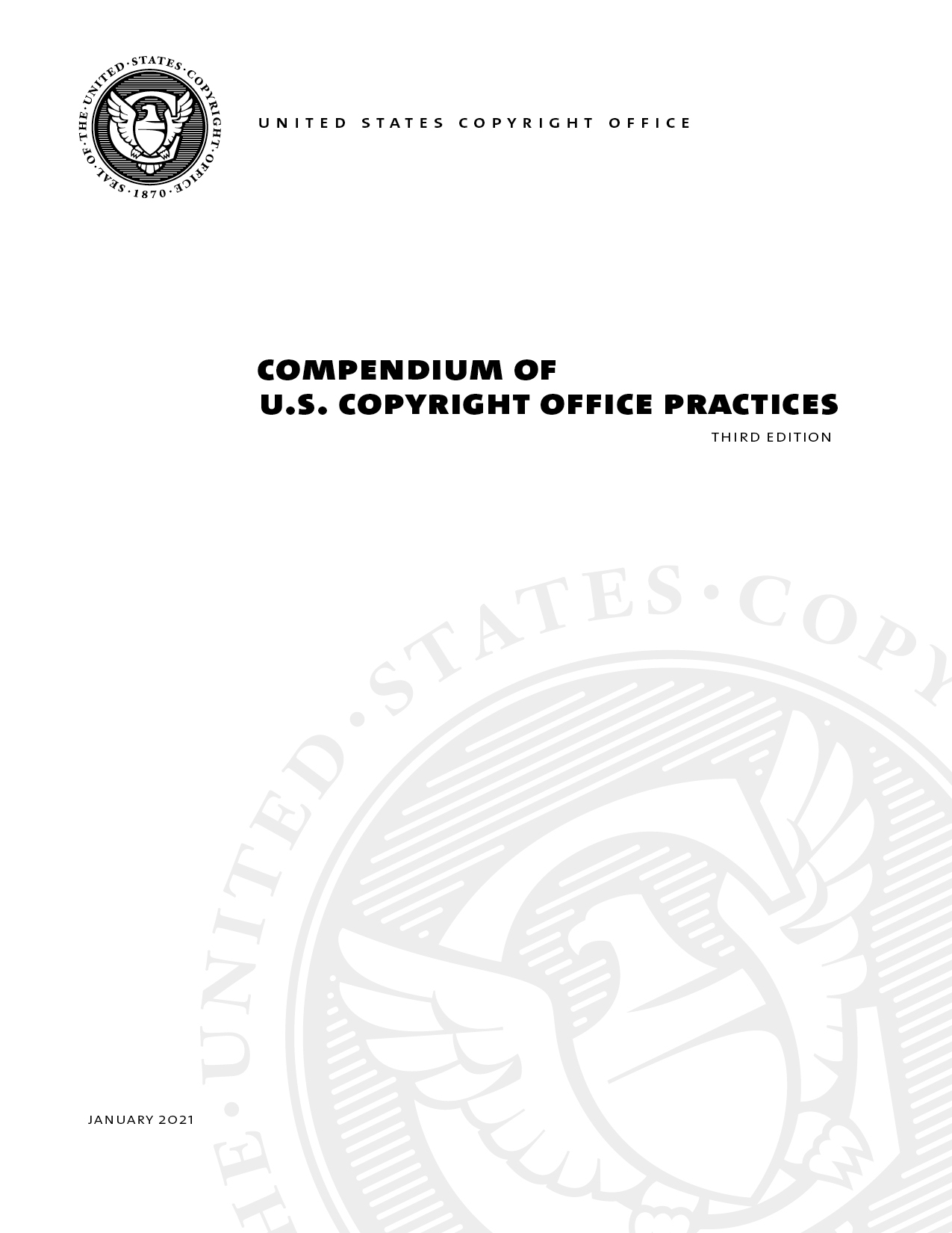 compendium of u s copyright office practices u s copyright office