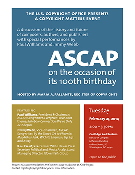 We Create Music ASCAP 100 Years