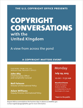 Copyright Conversations with the United Kingdom