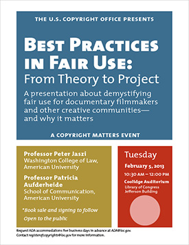 Best Practices in Fair Use: From Theory to Project